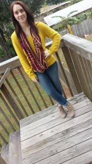 Yellow Sweater.