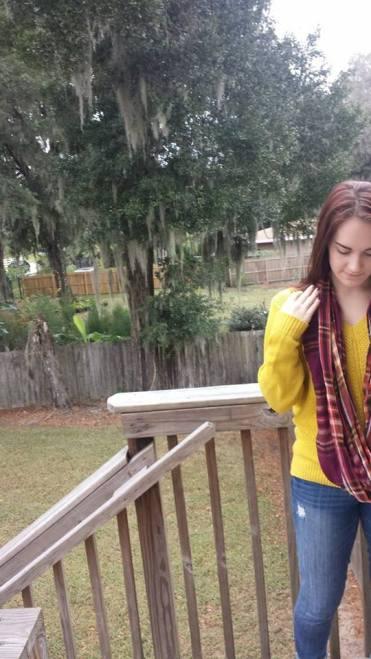 Yellow Sweater[
