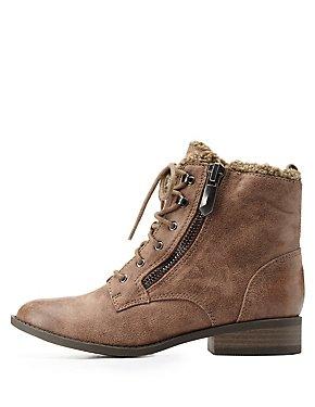 Charlotte Russe COmbat Boots